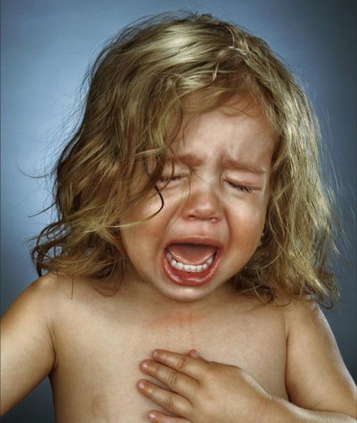 Crying Children Photo Series - Holiday Matinee